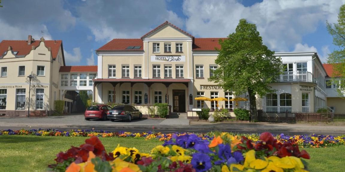 Burg: Hotel Bleske