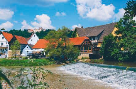 Langenburg-Bächlingen: Ferienwohnung Mosesmühle