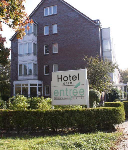 Entree  Mardin Gross Borstel , Pension in Hamburg bei Pinneberg
