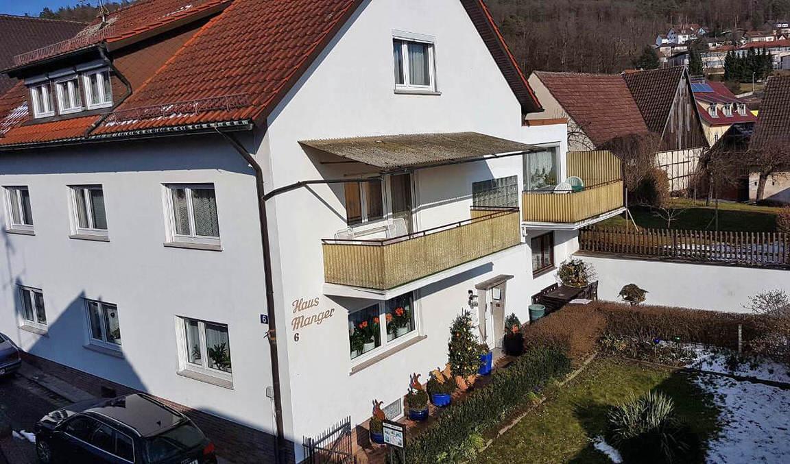 Pension Manger, Monteurzimmer in Bad Bocklet bei Gochsheim