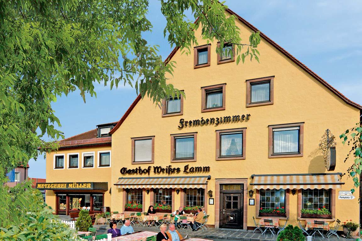 Gasthof Weißes Lamm, Pension in Nürnberg-Kornburg bei Schwabach