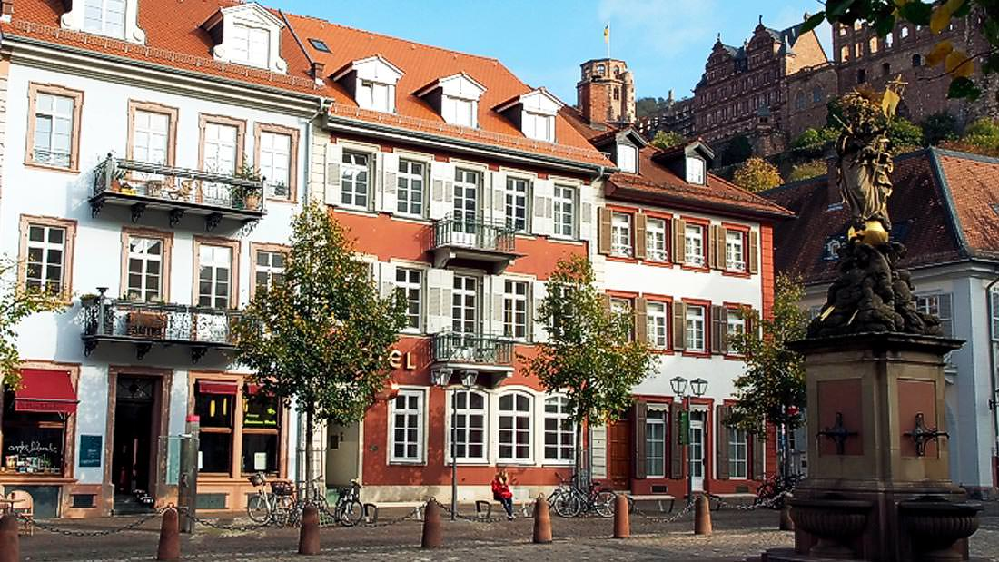 Am Kornmarkt, Pension in Heidelberg bei Gaiberg