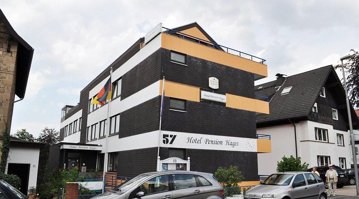 Hotel-Pension Hages, Hotel in Bad Salzuflen bei Detmold