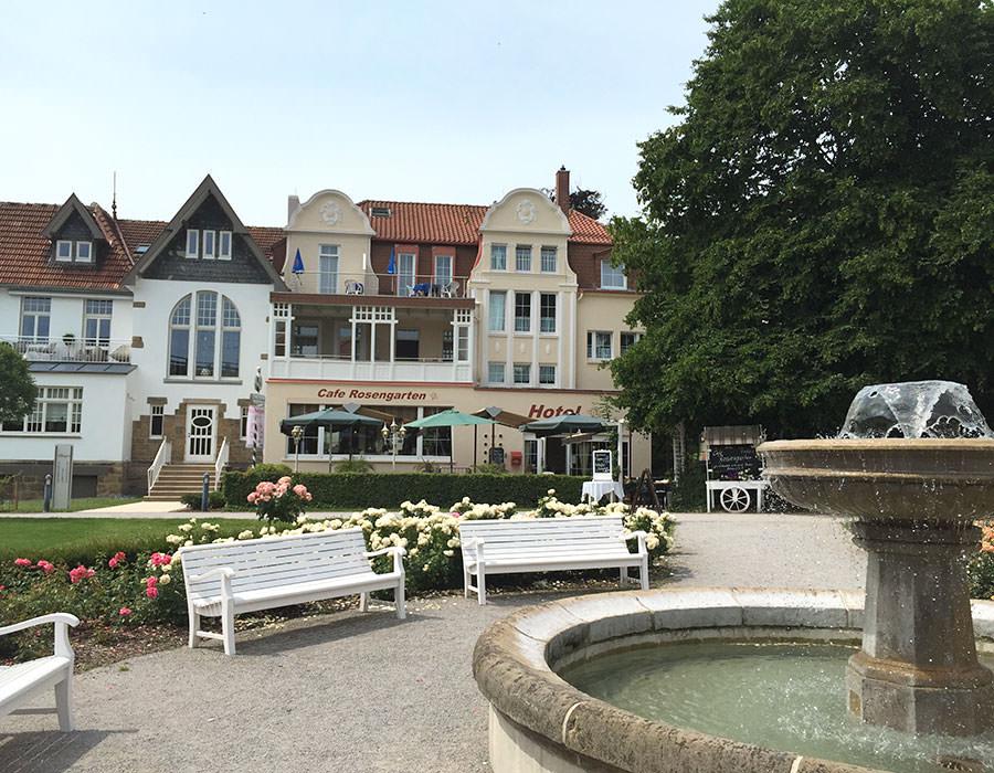 Hotel & Pension Haus Germania, Hotel in Bad Salzuflen bei Detmold