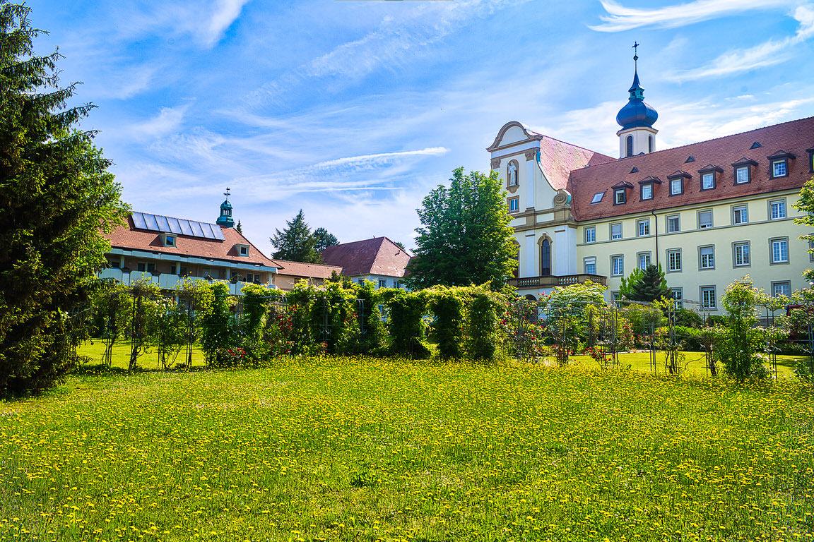 Gästehaus Kloster Maria Hilf, Pension in Bühl bei Flughafen Karlsruhe / Baden-Baden