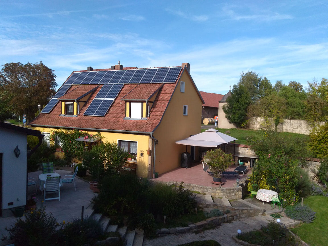 Pension Thereser Erholungsparadies, Pension in Theres bei Donnersdorf