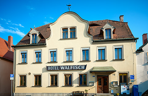 Walfisch, Pension in Haßfurt bei Donnersdorf