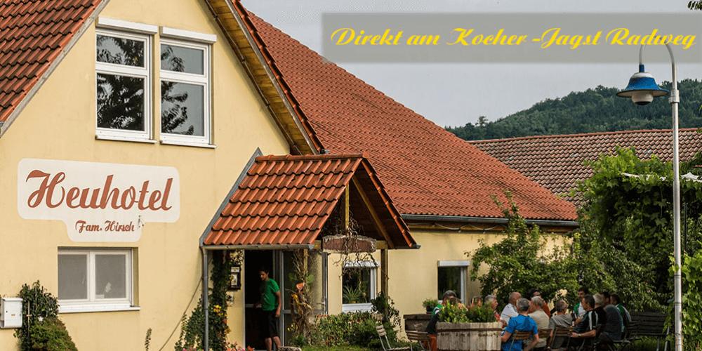 Ferienwohnung Gästehaus und Heuhotel, Ferienwohnung in Dörzbach bei Miltenberg