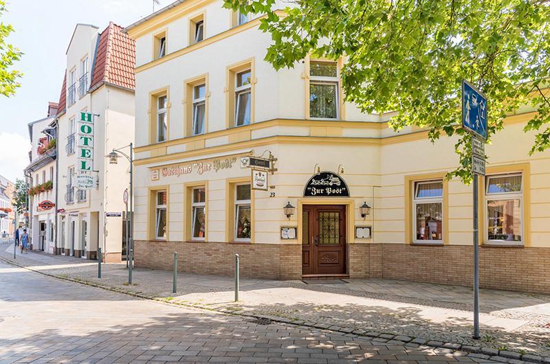Zur Post, Pension in Spremberg bei Laubst