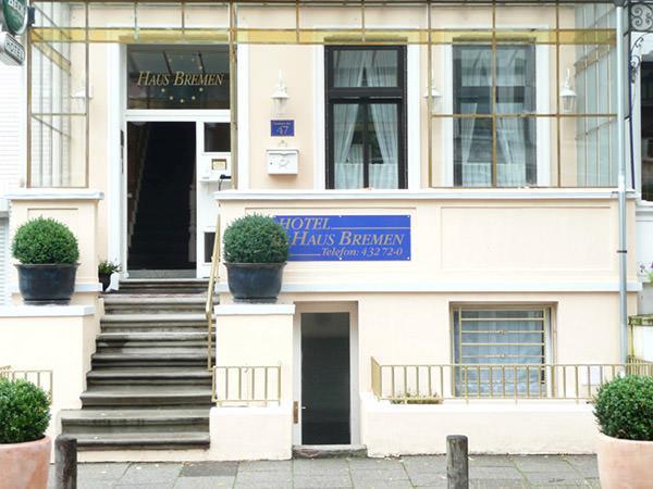 Bremen-Peterswerder: Hotel Garni Haus Bremen