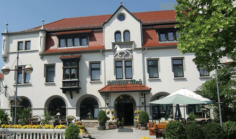 Hotel Weißes Roß in 04539 Groitzsch