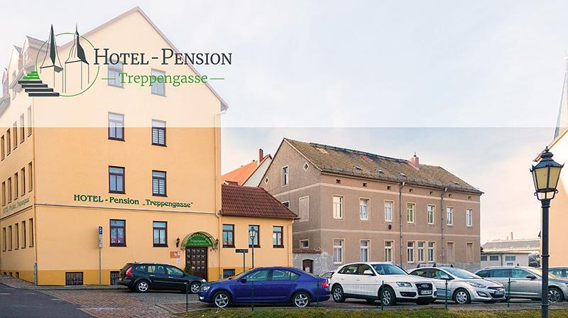 Hotel Pension Garni Treppengasse, Hotel in Altenburg bei Leipzig