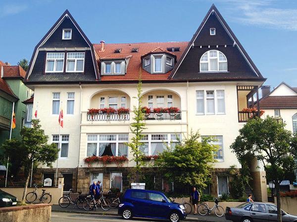 Hotel Garni Kurvilla Fürstin Pauline, Hotel in Bad Salzuflen bei Detmold