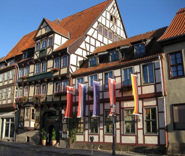 Hotel Zur Goldenen Sonne, Hotel in Quedlinburg bei Magdeburg