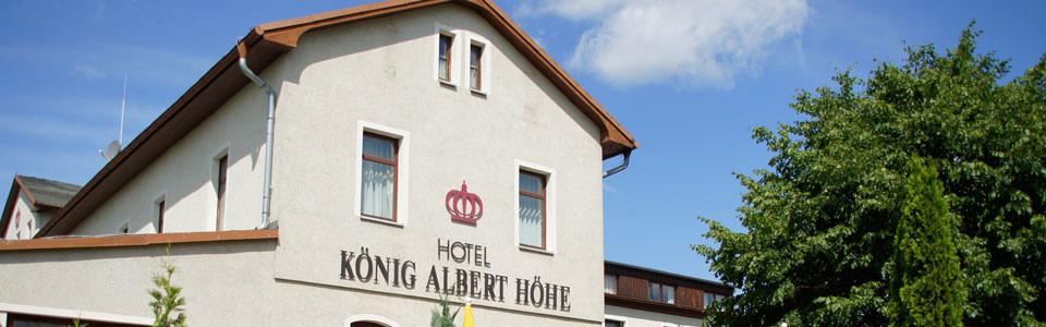 König Albert Höhe, Pension in Rabenau bei Rippien