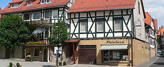 Herleshausen: Hotel Restaurant u. Fleischerei Schneider
