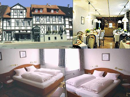 Bad Gandersheim: Hotel Garni Gerichtsschänke