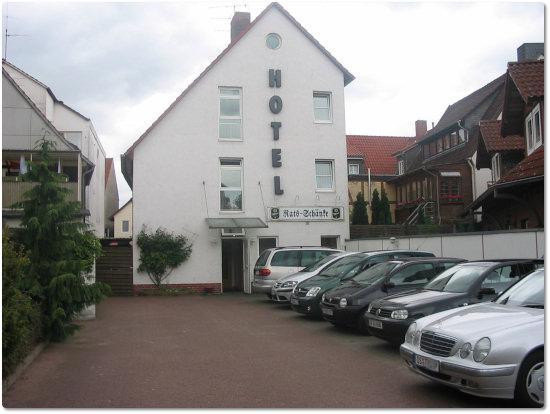 Hotel Garni Ratsschänke, Hotel in Gifhorn bei Braunschweig
