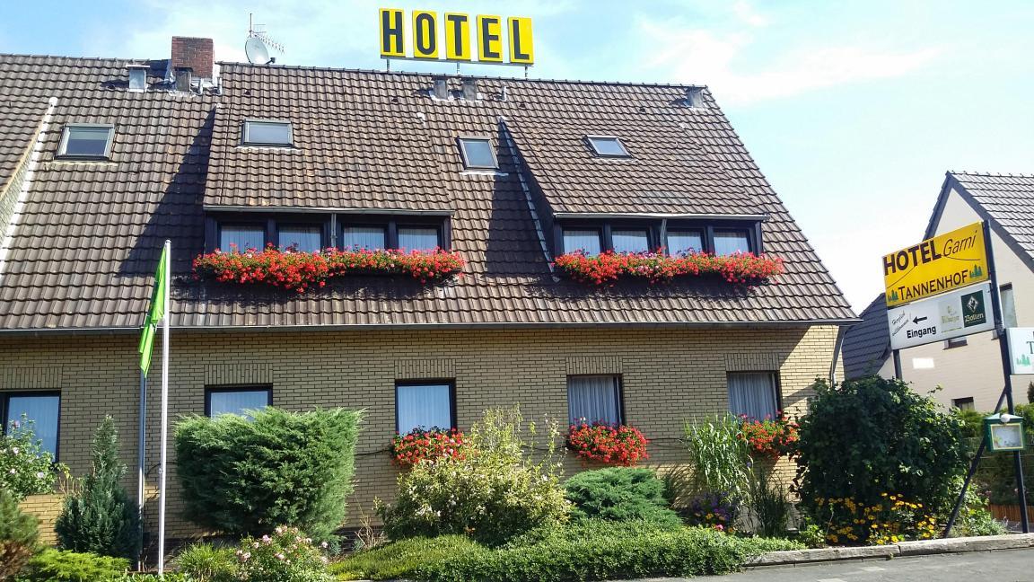 Hotel Garni Tannenhof in 41069 Mönchengladbach