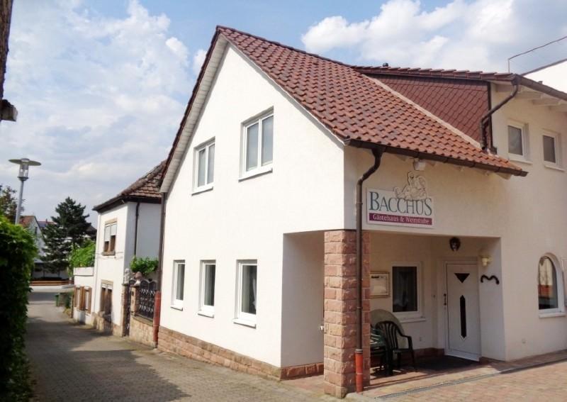 Gästehaus Bacchus, Pension in Wachenheim