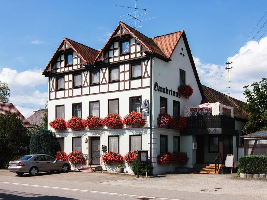 Pension-Gasthaus Gambrinus Rißtissen, Pension in Ehingen