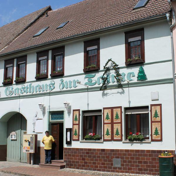 """Gästehaus Pension Schönblick: GäSTEHAUS &PENSION """"ZUR TANNE"""" (Wiehe) ⇒ 59 Empfehlungen"""