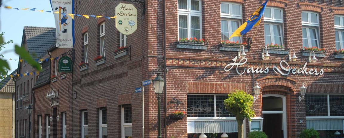 Geldern-Walbeck: Hotel Haus Deckers