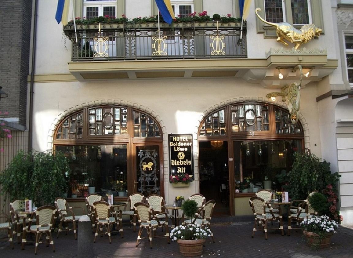 Kevelaer: Hotel Garni Goldener Löwe