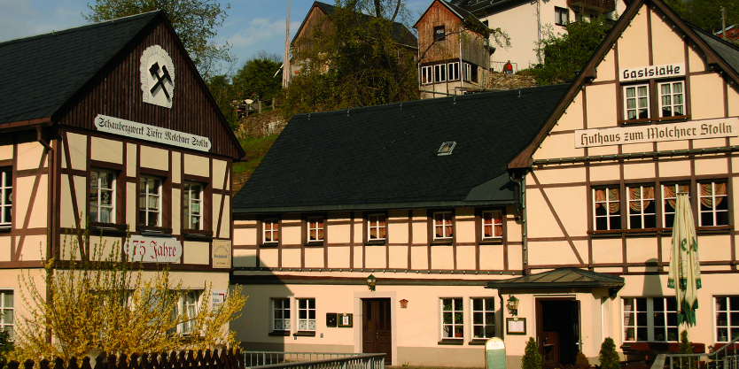 Pension & Gaststätte Huthaus Zum Molchner Stolln, Pension in Pobershau bei Zöblitz