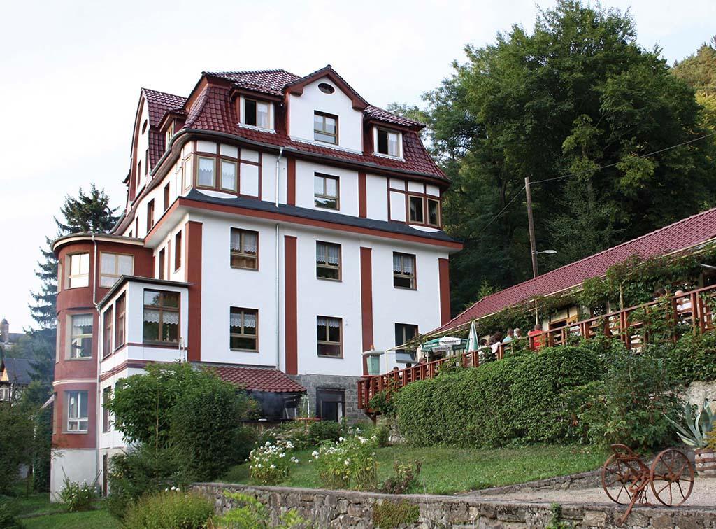 Leutenberg: Hotel Biker-Herberge Sormitzblick