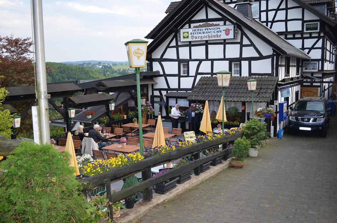 Hotel & Restaurant-Cafe Burgschänke (Hellenthal Eifel)