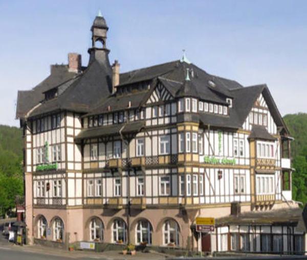 Schwarzburg: Hotel Weißer Hirsch