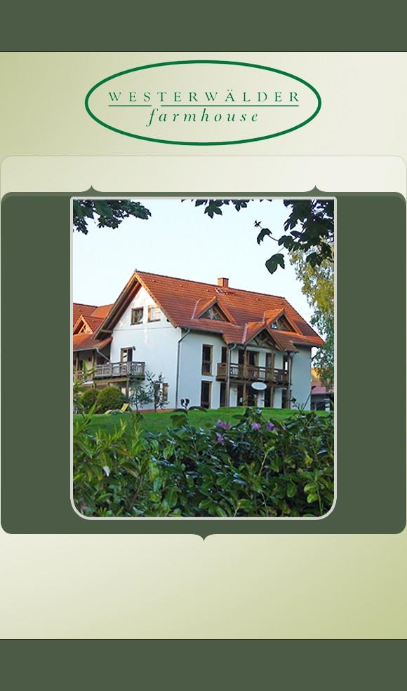 Rennerod: Ferienwohnung Westerwälder Farmhouse