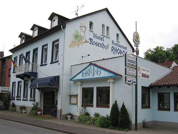 Rosenhof & Restaurant Rhodos, Pension in Bad Kreuznach bei Sprendlingen