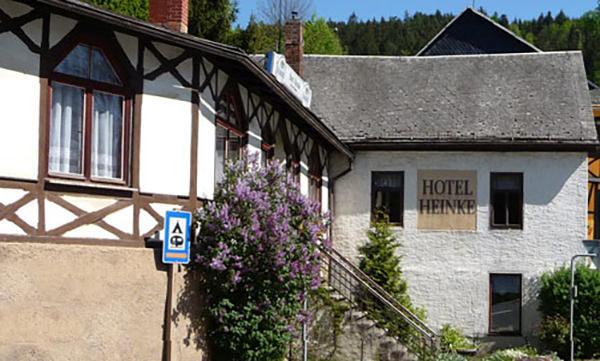 Ziegenrück: Hotel Pension Heinke