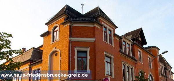 Greiz: Hotel Haus Friedensbrücke
