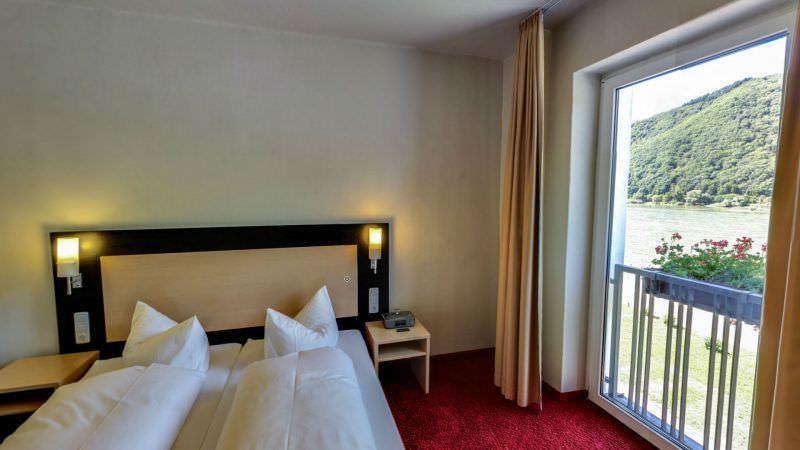 Rheinhotel Lamm, Pension in Rüdesheim am Rhein bei Windesheim