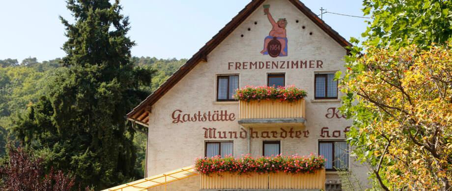 Bad Dürkheim: Gästehaus Terrassen-Gaststätte Mundhardter Hof