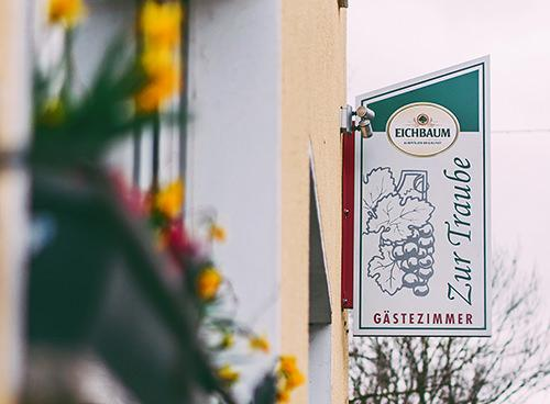 Worms-Pfeddersheim: Gästehaus Gasthaus Zur Traube
