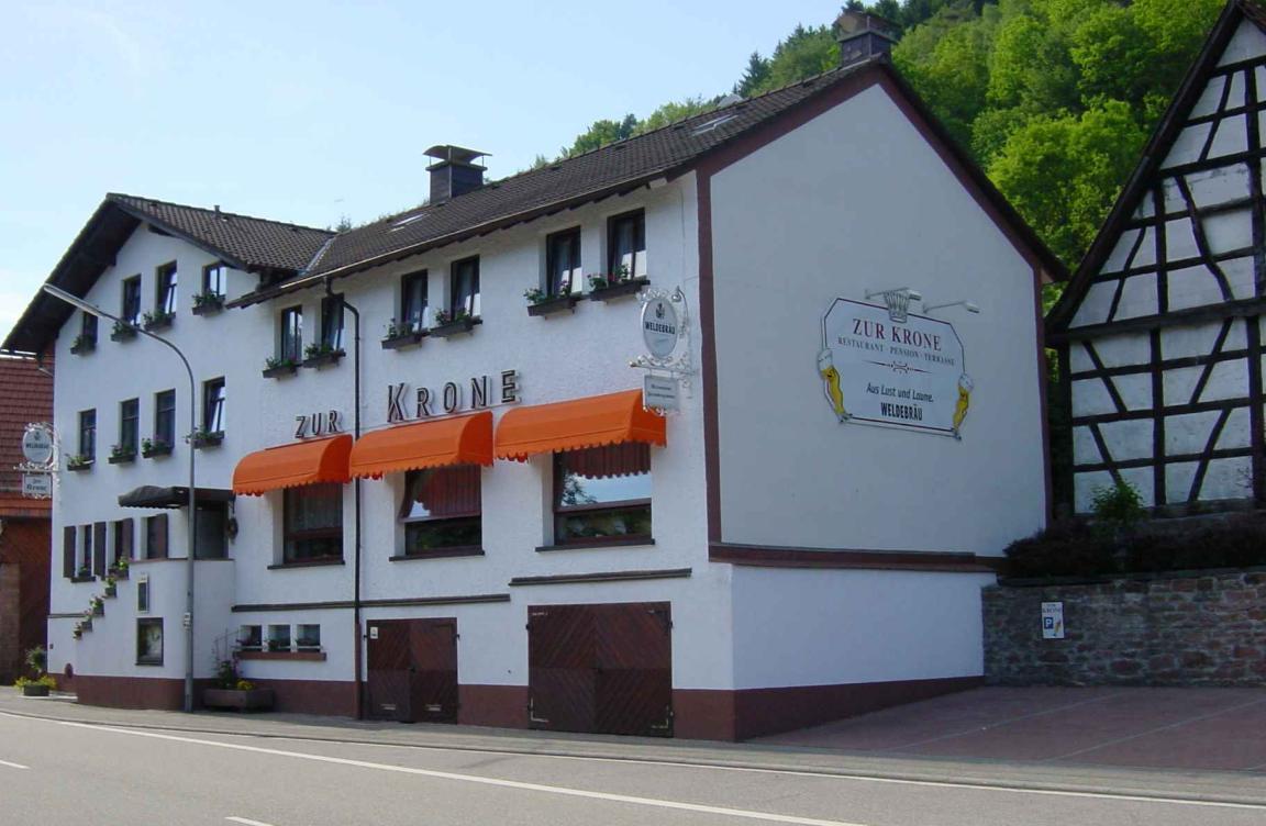 Gästehaus Pension Zur Krone, Pension in Hirschhorn-Langenthal bei Lobbach