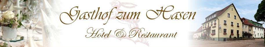 Gasthof zum Hasen, Pension in Ellwangen-Neunheim bei Rosenberg