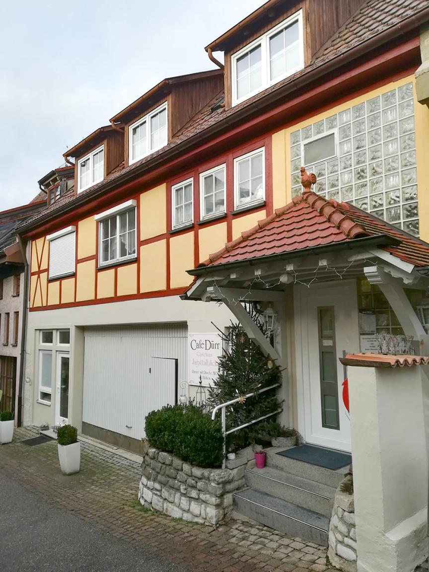Langenburg: Gästehaus Jagsttalblick