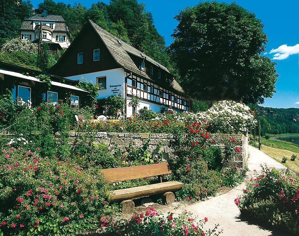 Pension Basteiblick Rosengarten, Pension in Kurort Rathen bei Porschendorf
