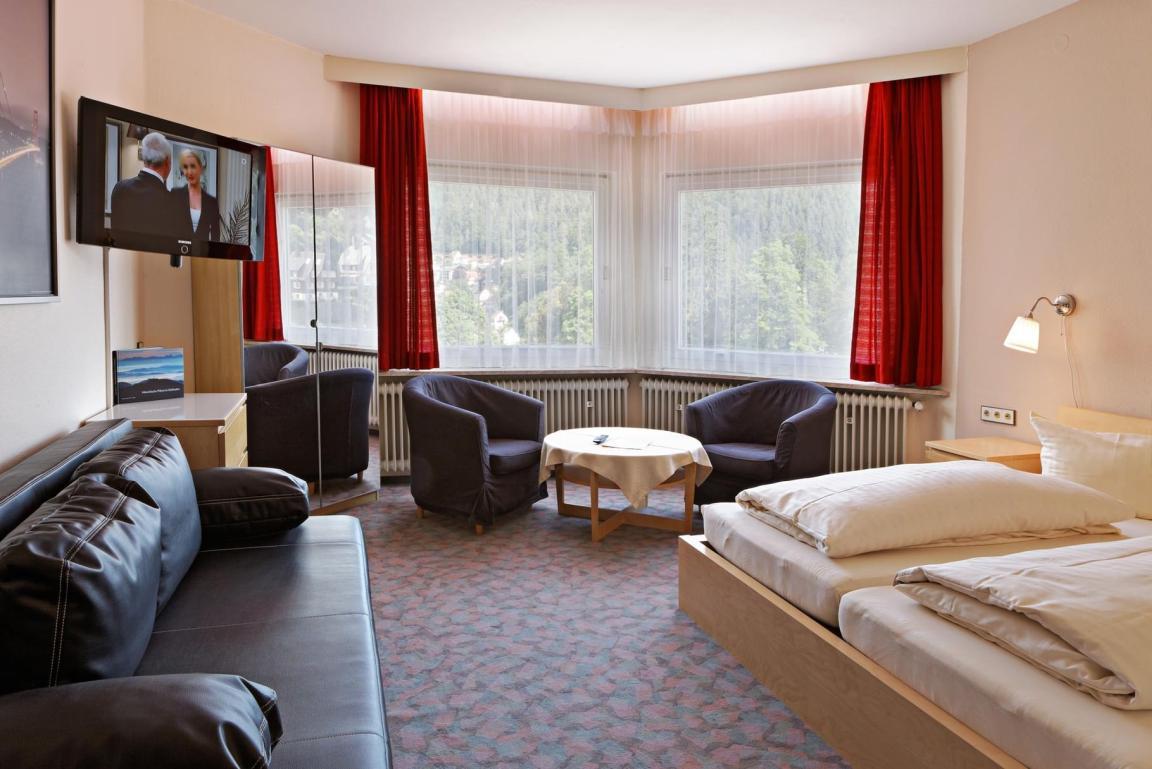 Triberg im Schwarzwald: Hotel Ketterer am Kurgarten