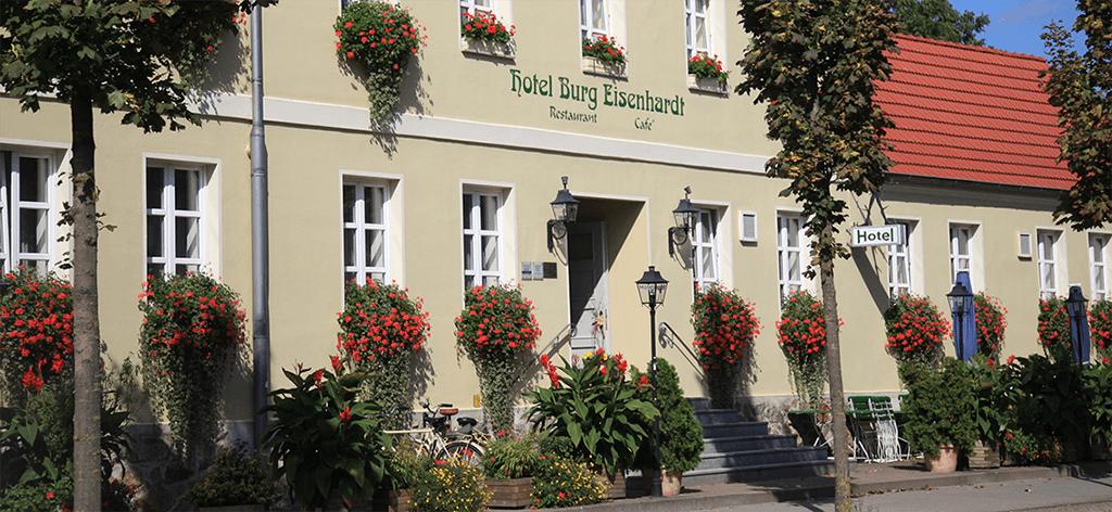 Burg Eisenhardt, Pension in Bad Belzig