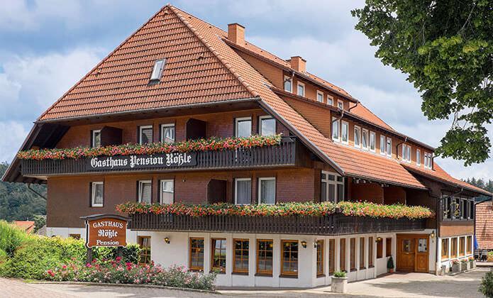 St. Märgen: Gästehaus Gasthaus Pension Rößle