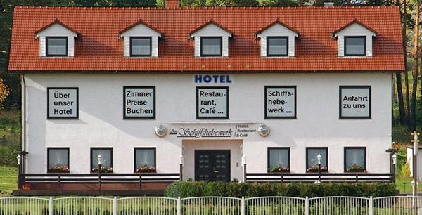 Niederfinow: Hotel Am Schiffshebewerk