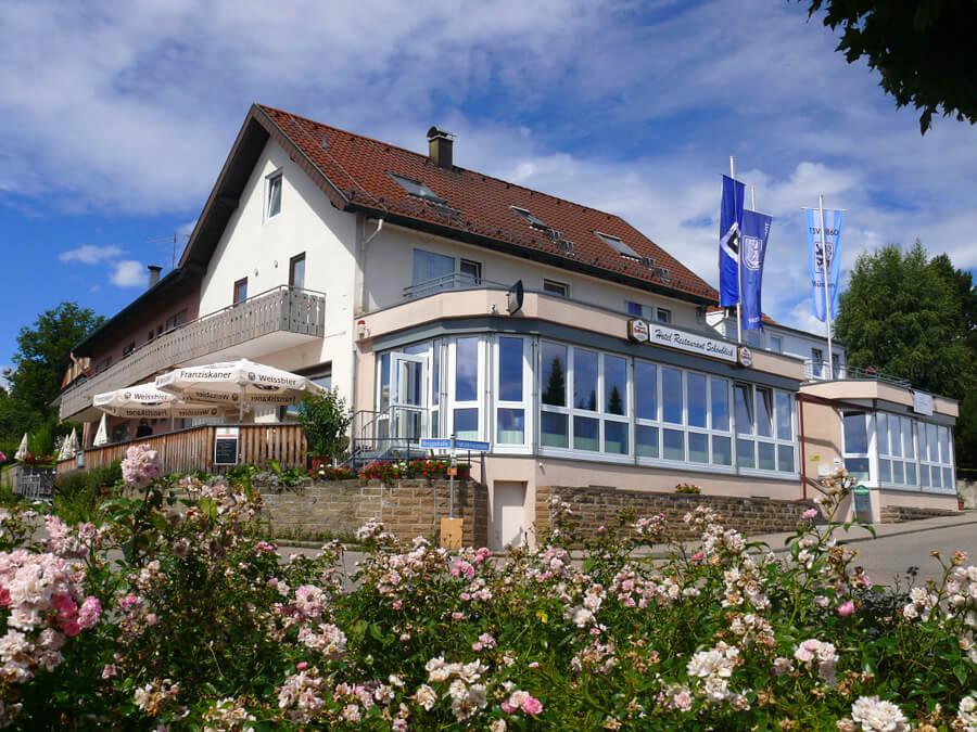 Wüstenrot: Hotel Restaurant u. Café Schönblick