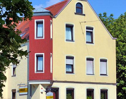 Augsburg: Pension Märkl