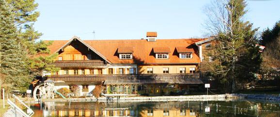 Obergünzburg: Gasthof Gfällmühle